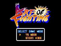 Art of Fighting, capture d'écran